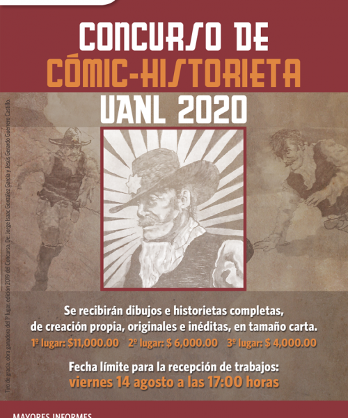 Webflyer Concurso Comic Historieta 2020